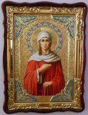 Ксения Петербургская, икона храмовая