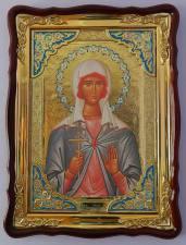 Лидия святая мученица, икона храмовая