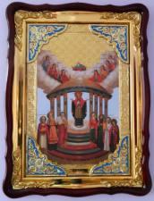Семистолпная Божия Матерь, икона храмовая
