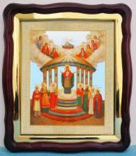Семистолпная Божия Матерь, аналойная икона (43 х 50 см)