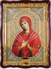 Семистрельная Божия Матерь, икона храмовая
