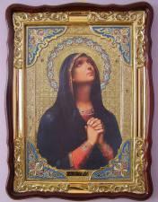 Скорбящая Божия Матерь, икона храмовая