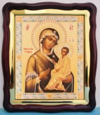 Тихвинская Божия Матерь, аналойная икона (43 х 50 см)