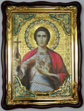 Уар святой мученик (поясной), икона храмовая