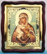 Феодоровская Божия Матерь, аналойная икона (43 х 50 см)
