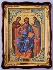 Царь Славы (с ангелами), икона храмовая