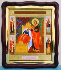 Целительница Божия Матерь, аналойная икона (43 х 50 см)