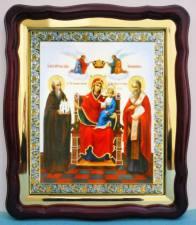 Экономисса Божия Матерь, аналойная икона (43 х 50 см)