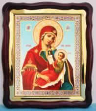 Утоли моя печали Божия Матерь, аналойная икона (43 х 50 см)