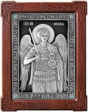 Икона Михаила посеребренная