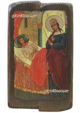 Целительница - икона под старину