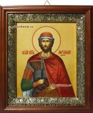 Александр Невский икона в киоте