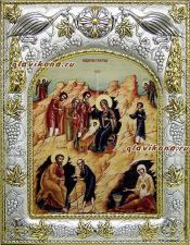 Рождество Христово (с волхвами), икона в ризе