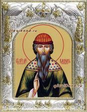 Святой Вадим, икона в ризе