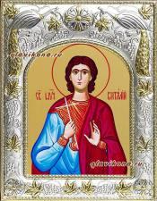 Святой Виталий, икона в ризе