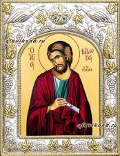 Апостол Иаков Заведеев, икона в ризе