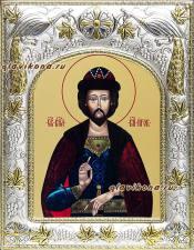 Игорь Черниговский, икона в ризе