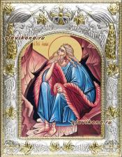 Илия пророк, икона в ризе