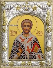 Лазарь Четверодневный, икона в ризе