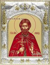 Мученик Леонид, икона в ризе