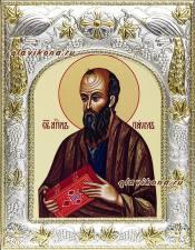 Апостол Павел, икона в ризе