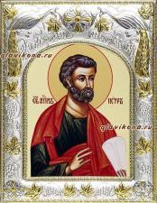 Апостол Петр, икона в ризе