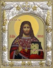 Платон Анкирский, икона в ризе