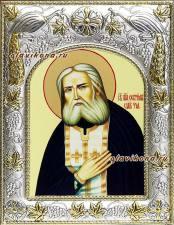Серафим Саровский, икона в ризе