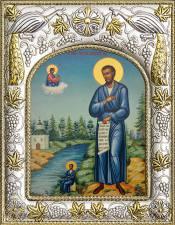 Симеон Верхотурский, икона в ризе