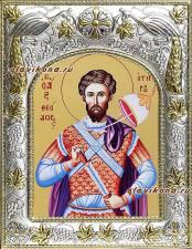 Феодор Тирон, икона в ризе
