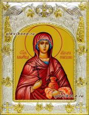 Анастасия Узорешительнца, икона в ризе