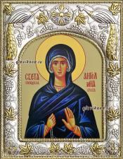 Ангелина Сербская, икона в ризе