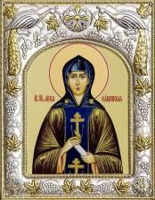 Анна Кашинская, икона в ризе