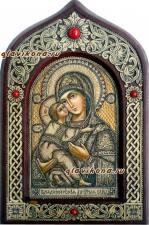 Владимисркая икона писанная на бересте