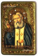 Серафим Саровский икона состаренная