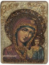 Казанская икона под страрину подароный вариант