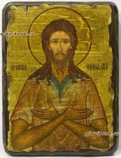 Святой Алексий, икона под старину