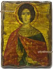 Святой Анатолий, икона под старину