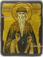 Святой Вадим - икона под старину