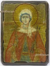 Виктория - состаренная икона