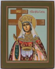 Равноапостольная царица Елена с крестом, икона артикул 6111