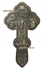 крест деревянный с серебрением
