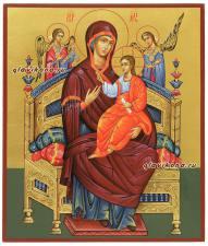 рукописная икона Всецарица, артикул 266