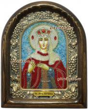 Святая Ирина, бисер
