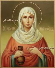 Иоанна Мироносица, рукописная икона