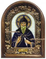 Святой Симеон, икона из бисера