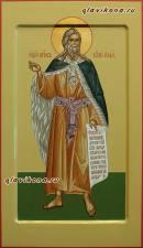 Мерная икона Пророка Ильи с ковчегом