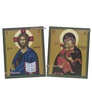 Венчальная пара византийский стиль, артикул 337