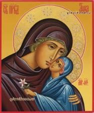 Икона праведной Анны, артикул 6012