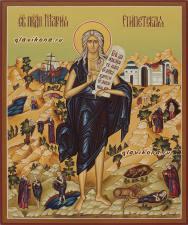 Мария Египетская, рукописная икона, артикул 6001